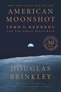 <i>American Moonshot: John F. Kennedy and the Great Space Race </i>by Douglas Brinkley details the Herculean effort to leapfrog the Soviets in the race to the moon.(Harper)