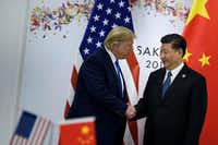 President Donald Trump and Chinese President Xi Jinping agreed to a trade truce last week after meeting at an economic summit in Japan. But all of their earlier tariff escalations remain in effect.(Brendan Smialowski/Agence France-Presse)