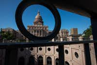 The Texas state capitol building in Austin, Texas on May 14, 2019.(Julia Robinson/Special Contributor)(Julia Robinson/Special Contributor)
