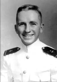 "A young Ross Perot in his U.S. Naval Academy uniform.&nbsp;(<p><span style=""font-size: 1em; background-color: transparent;"">Courtesy of Ross Perot</span></p>)"