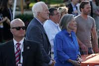 U.S. Sen. John Cornyn, R-Texas, attended a congressional picnic on the South Lawn of the White House on  June 21 in Washington, D.C. President Donald Trump and the first lady hosted the traditional event for congressional members, their families and staff member for the event at the White House. (Alex Wong/Getty Images)