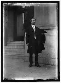 Coleman Livingston Blease was a state legislator, governor and senator from South Carolina, and an unabashed white supremacist who, in 1929, authored the law making it a crime to enter the United States except at a port of entry.(Library of Congress)