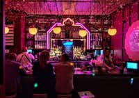 No one stumbles upon Ghost Donkey Bar at the Cosmopolitan Resort, but it's worth seeking out for its mezcal cocktails and hidden location where you're not likely to run into anyone you don't want to see. (Michael Hiller/Special Contributor)