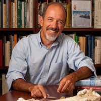 Dr. David J. Meltzer, professor of anthropology at Southern Methodist University.(Hillsman Stuart Jackson)