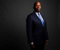 Dr. Brian William poses for a photograph in The Dallas Morning News Studio in Dallas on Friday, July 5, 2019. Dr. Brian Williams became a known Dallas figure across the nation after a passionate speech about trust within the black community and policing catapulted him into the national spotlight.(Shaban Athuman/Staff Photographer)