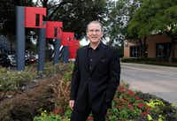 Michael Ablon, principal of PegasusAblon, poses for a portrait in the Design District Park, one of his many developments.(David Woo/Staff Photographer)