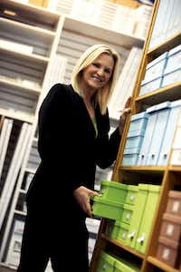 Melissa Reiff, CEO of The Container Store.(File photo )