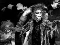 Betty Buckley in the 1983 role that put her on the Broadway map, Grizabella in the musical <i>Cats</i>.(Richard Drew/AP)