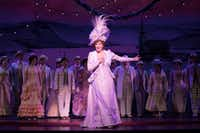 Betty Buckley takes her bows in the national touring production of <i>Hello, Dolly!</i>&nbsp;(Julieta Cervantes)