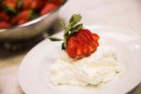 Eat your whipped cream topped with strawberries, or just by itself, we won't judge.(Ryan Michalesko/Staff Photographer)