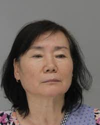 Yong Dews was arrested Tuesday at a massage parlor in Dallas.(Dallas County Jail)
