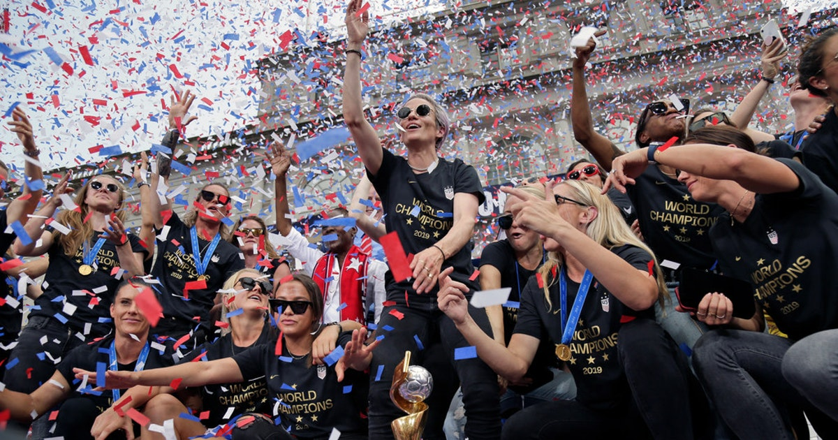 Letters - Three cheers to the U.S. women's soccer team, 'Bag Ladies' at CC Young in Dallas,...