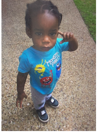 18-month-old Cedrick Jackson was last seen early Wednesday in Lake Highlands, authorities say.(Dallas Police Department)