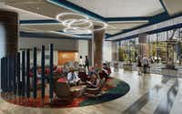 Choctaw Nation of Oklahoma is building a new 1,000-room hotel, restaurants, a conference center and retail90 miles north of Dallas in Durant, OK.(JCJ Architecture)