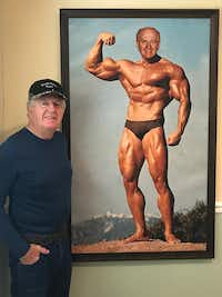 Former EDS executive Tom Meurer and his wife returned from a vacation to find that Ross Perot Sr. had planted Meurer's face on the life-size body of Arnold Schwarzenegger and sneaked it into their home while they were gone.(Tom Meurer)