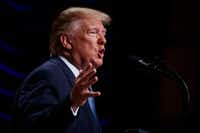 "President Donald Trump recently told reporters that raids on immigrants living in the country illegally would begin ""fairly soon.""(Evan Vucci/The Associated Press)"