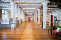 The first floor of the Purse Building, which is on Elm Street, at the entry to downtown's West End Historic District and just across the street from the Dallas County Records Building.(Ashley Landis/Staff Photographer)