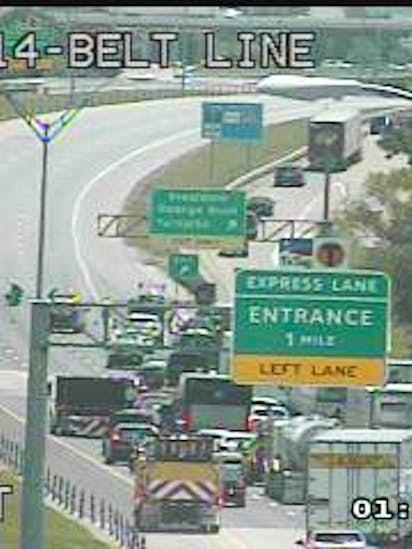 Lanes reopen after fatal crash on Highway 114 in Irving | Traffic