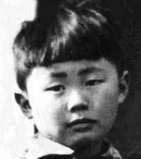 This is the only surviving photograph of George Takei from his time at an internment camp in Rohwer, Ark., in 1942 and 1943. (Courtesy of George Takei)