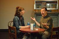 Married actors Kim and Matt Lyle play a couple out on a crazy first date in their Bootstraps Comedy Theater production of&nbsp;<i>Nerve</i>.(Festival of Independent Theatres)