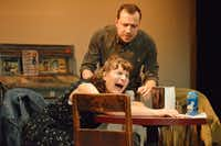 It gets emotional and hilarious when two troubled people, Susan (Kim Lyle) and Elliott (Matt Lyle), try to make a connection in Adam Szymkowicz's <i>Nerve</i>.(Festival of Independent Theatres)