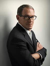 Author Daniel Silva has written his 22nd book,&nbsp;<i>The New Girl</i>, which mentions the painting&nbsp;<i>Salvator Mundi</i>.(Marco Grob/Harper Collins)