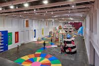 """""""Mind of the Mound: Critical Mass"""" occupies the largest exhibition space at any contemporary art museum.&nbsp;(Tony Luong/<p><span style=""""font-size: 1em; background-color: transparent;"""">Massachusetts Museum of Contemporary Art</span></p>)"""