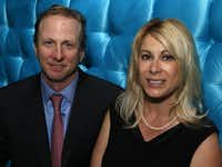 Vaughn and Dena Miller at Winston's Supperclub in Oak Lawn in 2012. (File 2012/Special Contributor)