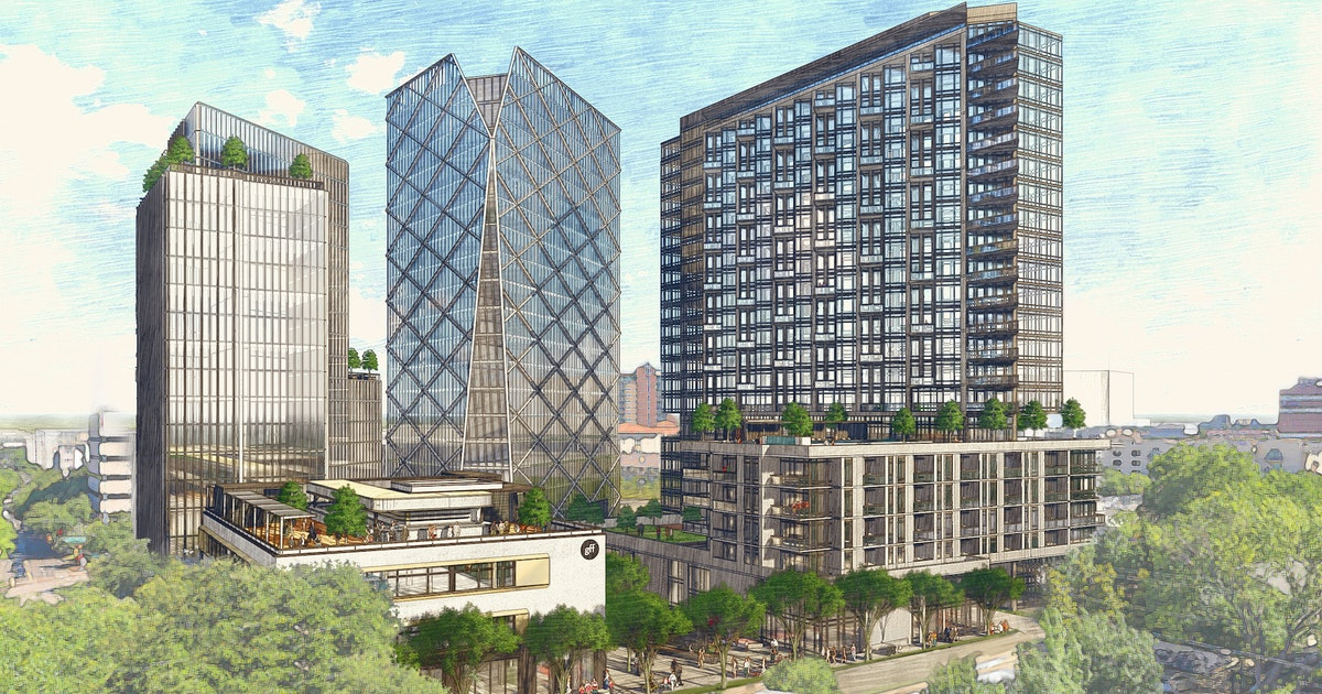 Uptown Dallas' next big development will have office, residential and hotel towers...