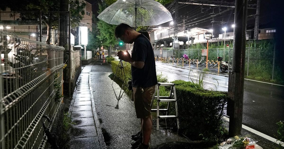 Man shouting, 'You die,' kills 33 in fire set at Japan animation studio...