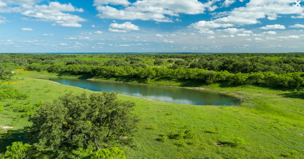 Huge Central Texas ranch for sale covers 50 square miles...