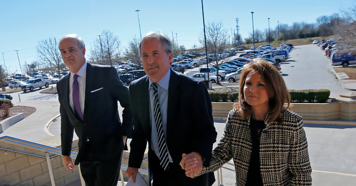 Special prosecutors targeting Texas AG Ken Paxton ask judge to determine their pay...