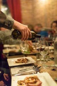 Burklee Hill Vineyards-Trilogy Cellars in Levelland hosted a Friendsgiving Wine Dinner last fall.(Burklee Hill Vineyards)