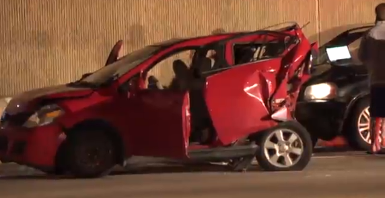 Driver of disabled vehicle killed in crash on Bush Turnpike in Plano