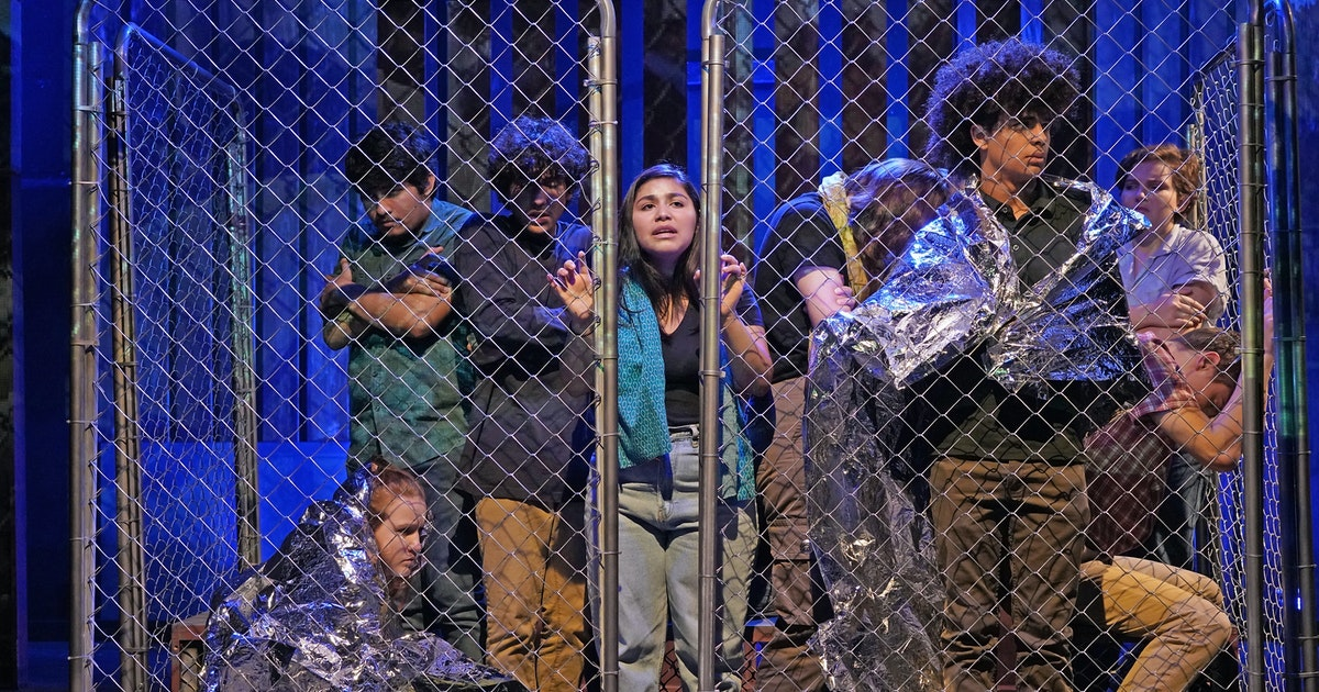 What's happening to children detained at the border? Teen actors reveal what they found...