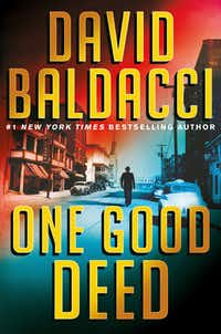 <i>One Good Deed </i>is set in the post-World War II era, with a sympathetic hero trying to prove his innocence.&nbsp;(Grand Central Publishing/The Associated Press)