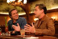 Brad Pitt and Leonardo DiCaprio star in <i>Once Upon a Time ... in Hollywood</i>.&nbsp;(Andrew Cooper)