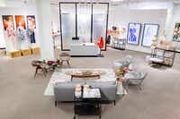 """J.C. Penney is testing a new """"styling room"""" in women's apparel with a seating area and redecorated dressing rooms. This test is at Alliance Town Center in Fort Worth.(J.C. Penney)"""