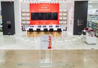 J.C. Penney has a test underway in its Tyler store, where it's holding how-to classes. It has repurposed an area in the home department that already has a television screen.(J.C. Penney)
