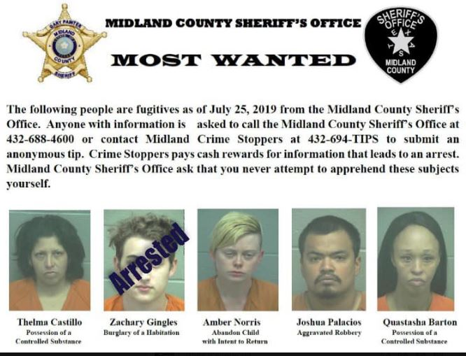 Texas sheriff offers to retake mugshots of top 5 fugitives