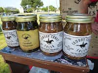 Tim Lane's Cowboy Candy Salsa was recently added to the Central Market lineup, but he still sells at area farmers markets, including Rowlett.(Kim Pierce/Special Contributor)