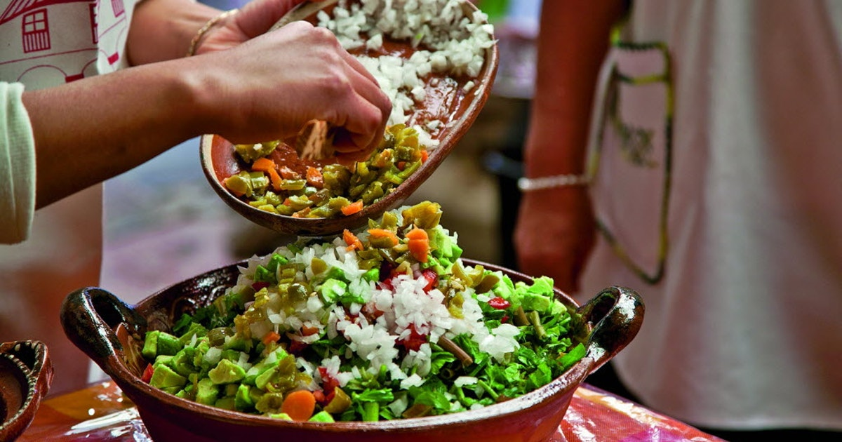 'Mercados' cookbook explores the wonders of Mexico's markets and brings home the recipes...
