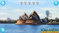 The Sydney Opera House in Australia is one of many locations that players can explore as they travel the world in search of mysterious relics.(courtesy of SMU)
