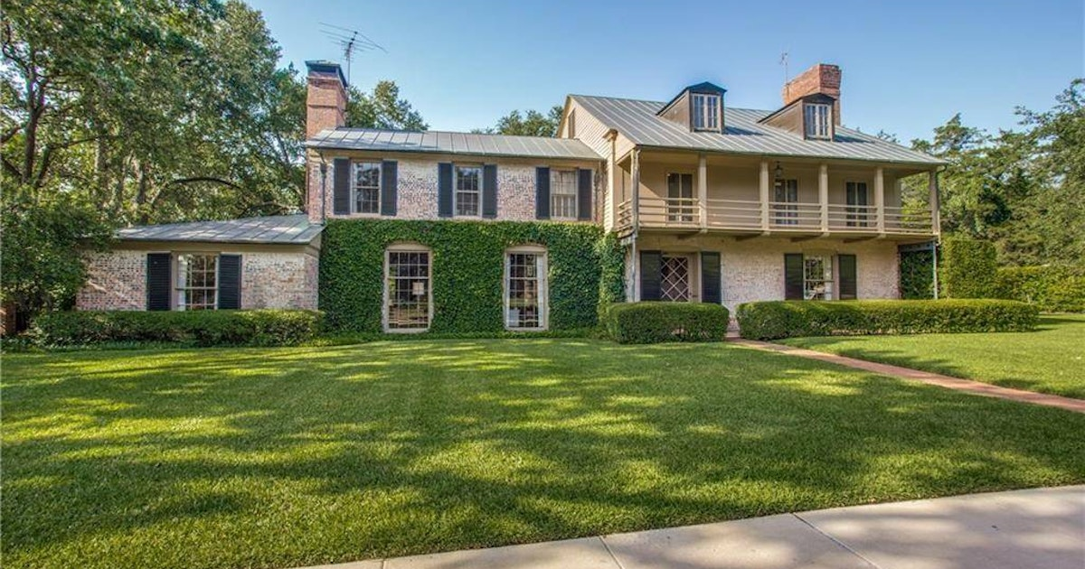 One of the most important homes ever built in Texas is right here in Dallas — and it's for...