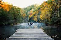Guests at Blackberry Mountain will find ample opportunities for yoga and other wellness activities.(Blackberry Mountain)