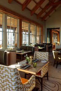 Three Sisters, the flagship restaurant in the main lodge at Blackberry Mountain, has a wellness menu big on international flavors.(Blackberry Mountain)