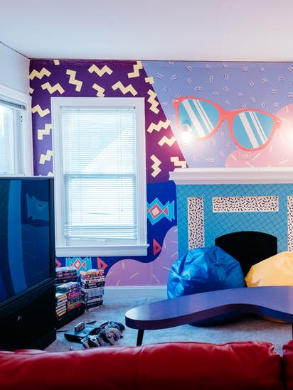 90s-themed Airbnb joins an '80s-themed Airbnb in Lower Greenville