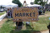 Welcome to the Denton Community Market at Mulberry and Carroll. (Kim Pierce/Special Contributor)