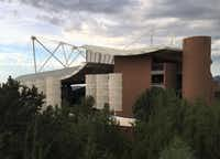 Santa Fe Opera's Crosby Theatre hosts the performances.(Scott Cantrell/Special Contributor)