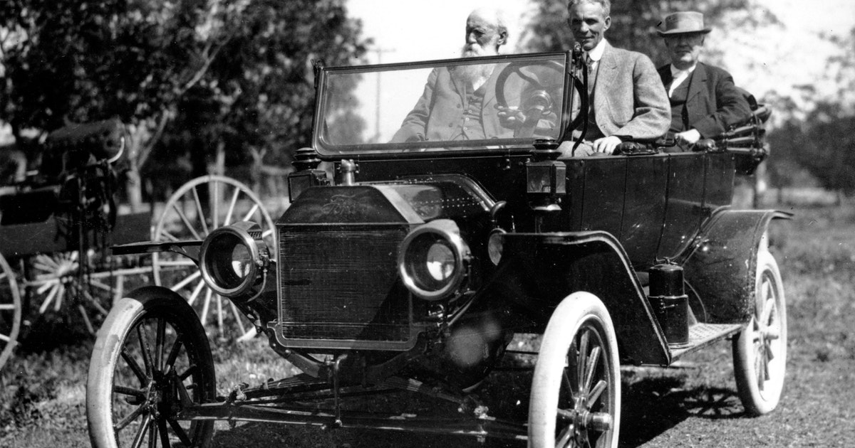 Before the Kardashians, Thomas Edison and Henry Ford made road trips the engines of their celebrity...